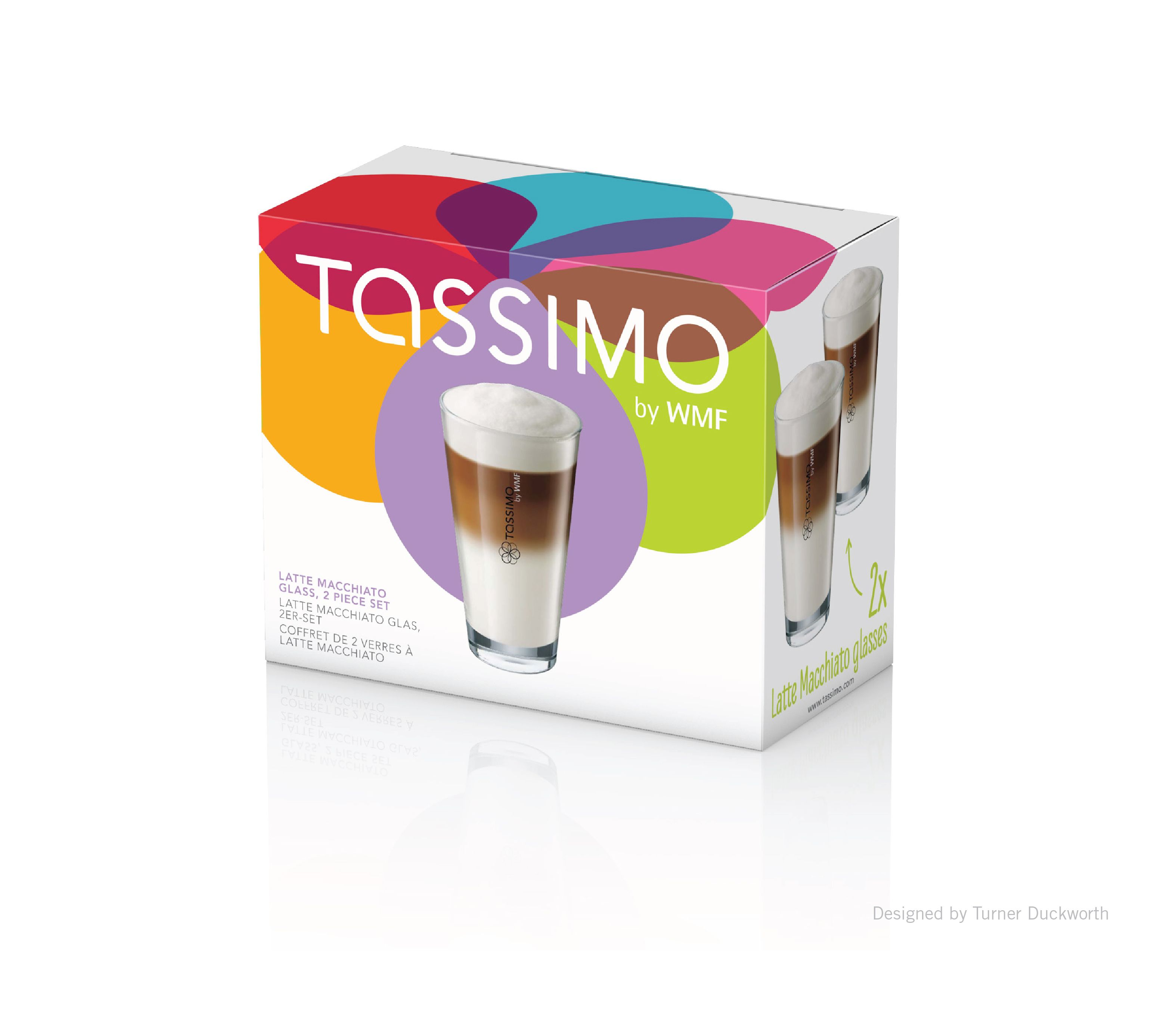 Tassimo Glasses Packaging And Identity. Designed By Turner