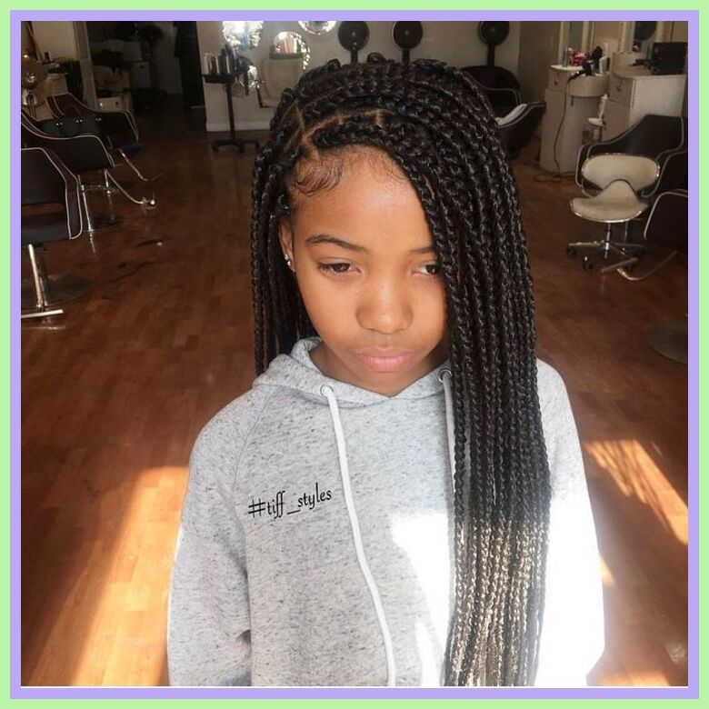 Pin By Kids Movie Out Now On Kids Furniture Playhouse In 2020 Kids Braided Hairstyles Hair Styles Kids Box Braids