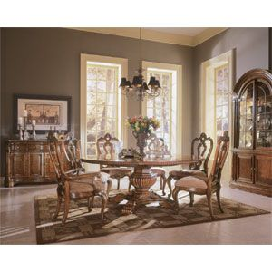Great Buffet With Images Round Dining Room Sets French