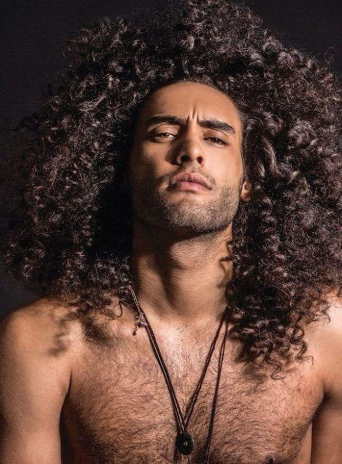 ▷ 79 Beeindruckende Herrenfrisuren Für Lockiges Haar Long Haired