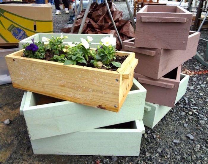 fabriquer une jardinire en bois - Fabriquer Une Jardiniere En Bois