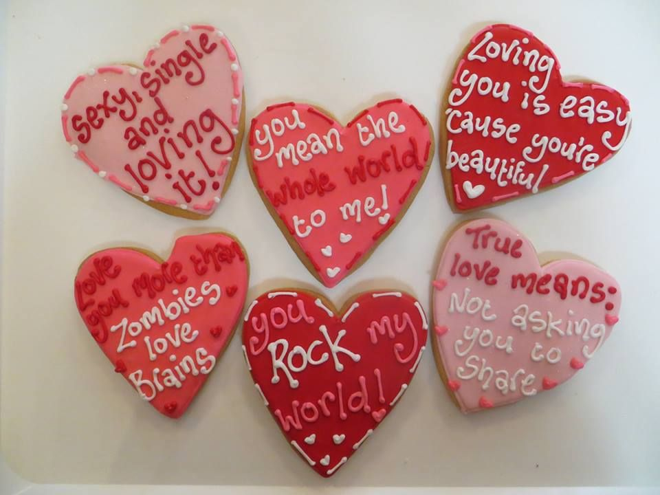Charly\'s Bakery Valentine\'s day skull cookies, Meme cookies ...