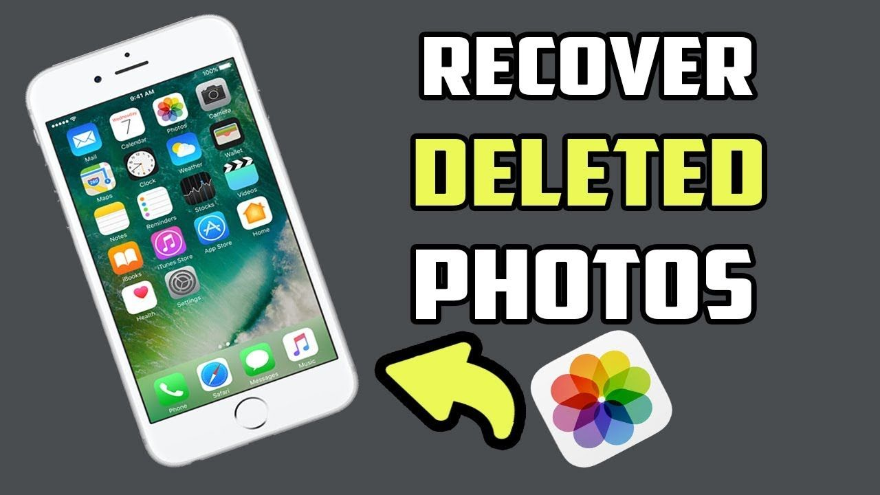 How To Recover Deleted Photos From Iphone Without Backup Youtube Recover Deleted Photos Recover Deleted Pictures Photo Recovery Software