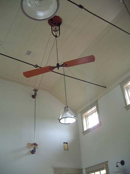 Non Electric Ceiling Fan Ceiling Fan Ceiling Fan Diy Belt Driven Ceiling Fans
