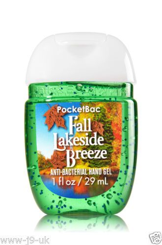 Bath Body Works Pocketbac Hand Sanitizer Gel Autumn Adventure