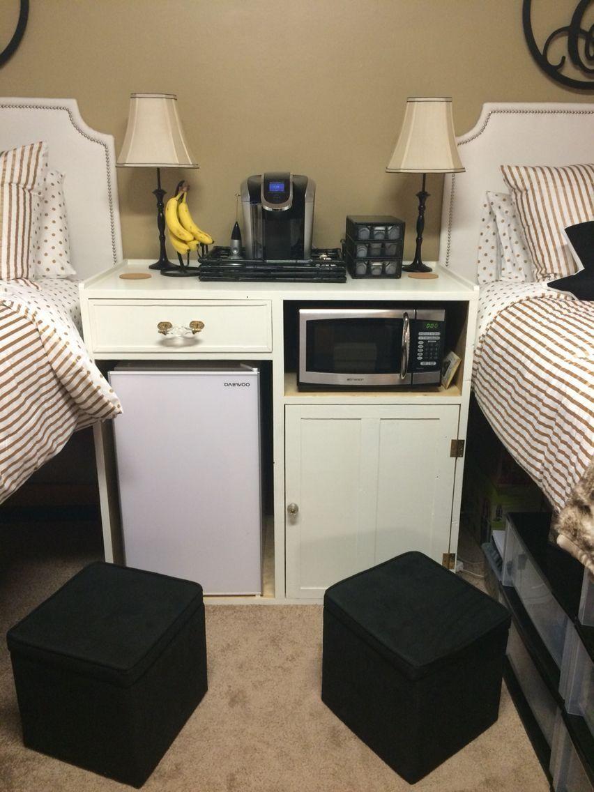 48 Efficient Dorm Room Organization Decor Ideas images