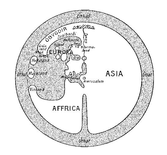 Norse World Map.244 Title Norse World Map Date 12th 14th Century Author A A
