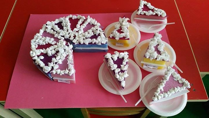 Cake Crafts For Preschoolers Crafting