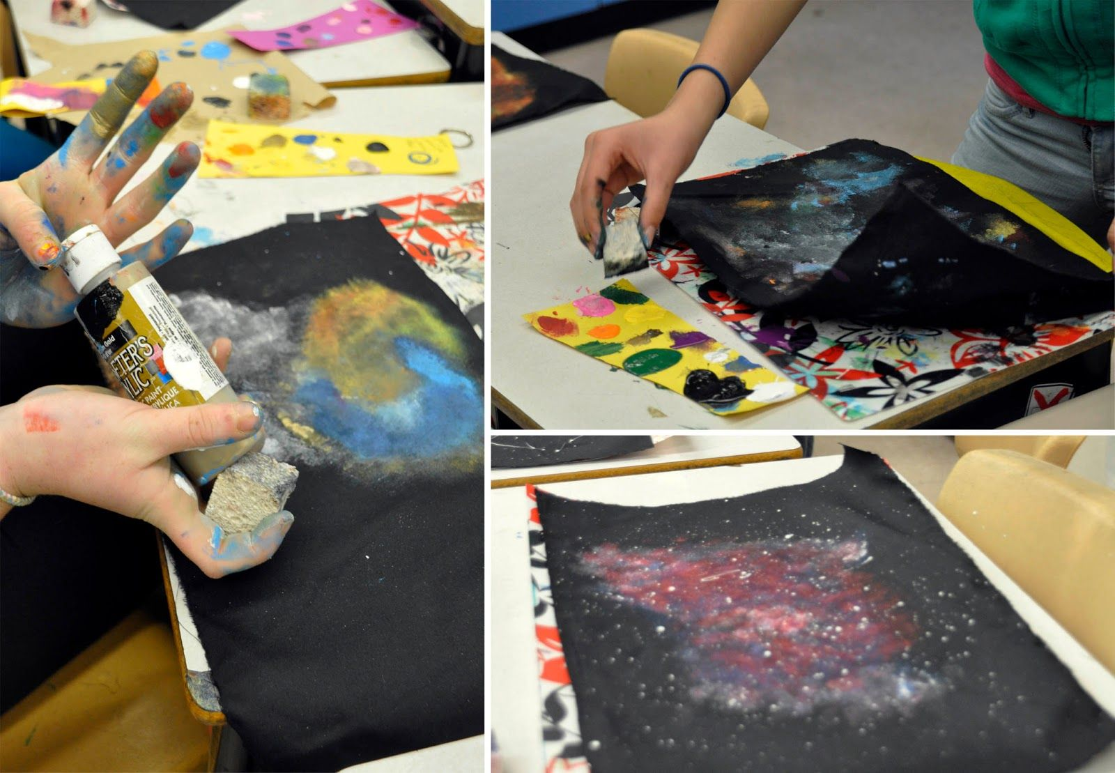 Artisan Des Arts Outer Space Nebula Galaxy Paintings