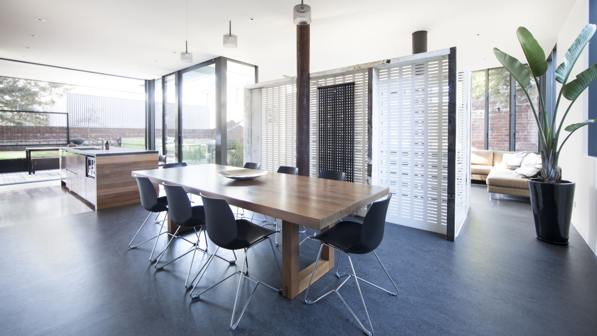 House in a Warehouse dinning Interior design awards