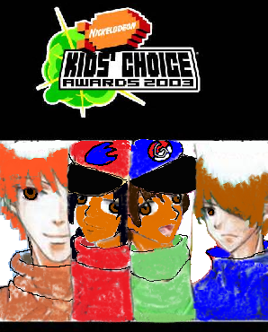 Nickelodeon Kids Choice Awards 2003 Logo part 2