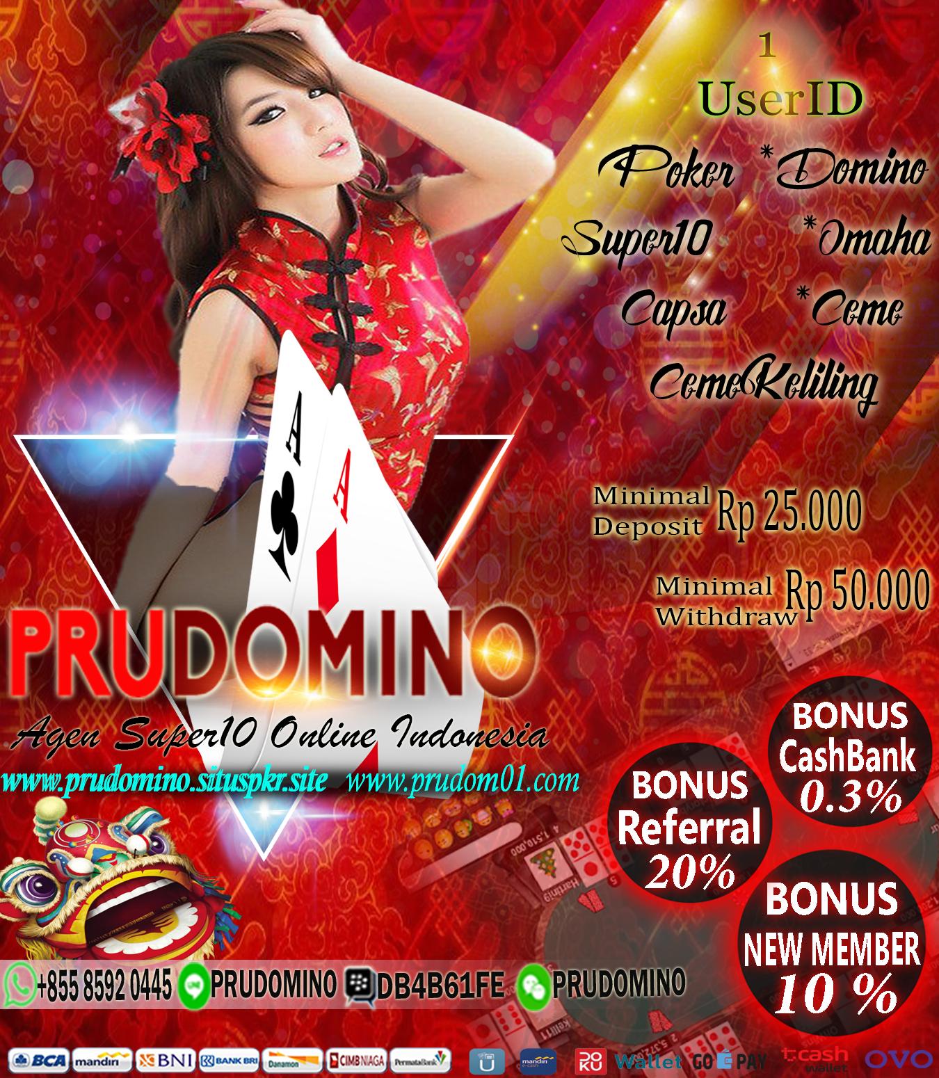 PRUDOMINO Jenis, Persamaan, Indonesia