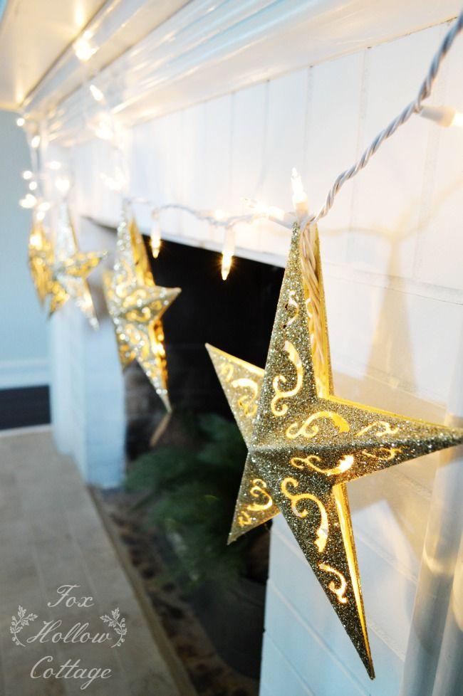 diy dollar tree christmas ornament lights - Dollar Tree Christmas Lights