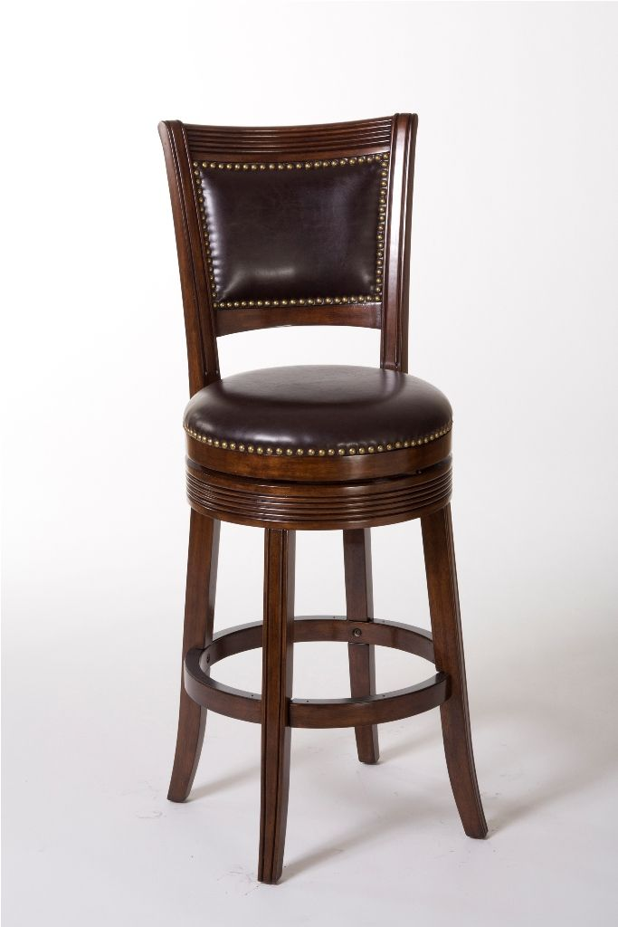 Interior Stunning Wooden Swivel Bar Stools With Back Archives A