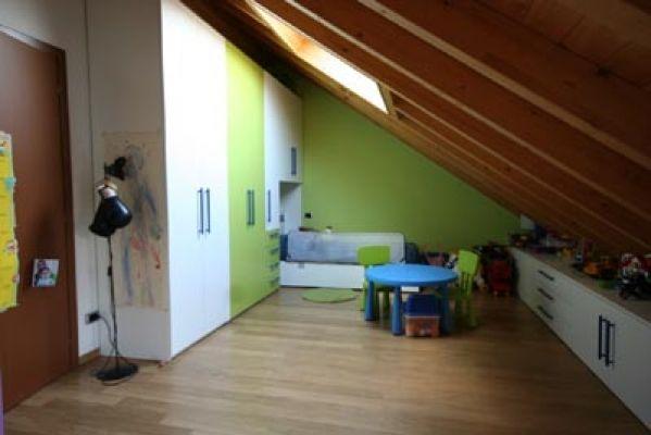 La camera dei bimbi in mansarda cerca con google cameretta - Camerette in mansarda ...