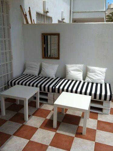 Sillones de palets decoraci n pinterest sillon de for Sillones hechos con tarimas