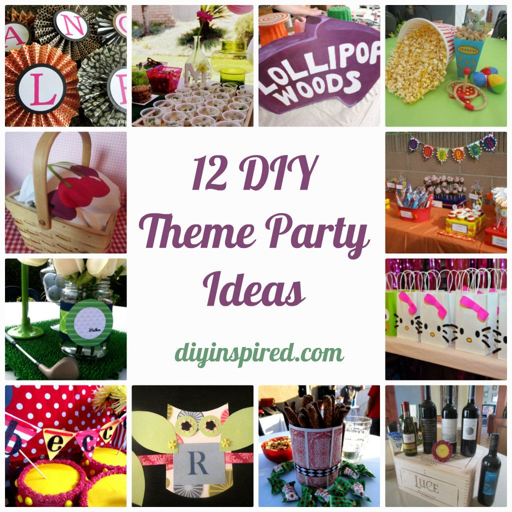 12 DIY Theme Party Ideas Entertain Teamnissan Manchester Newhampshire Nh