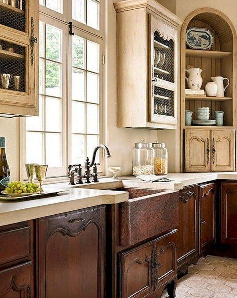 70+ Amazing French Country Kitchen Design Ideas Kitchen