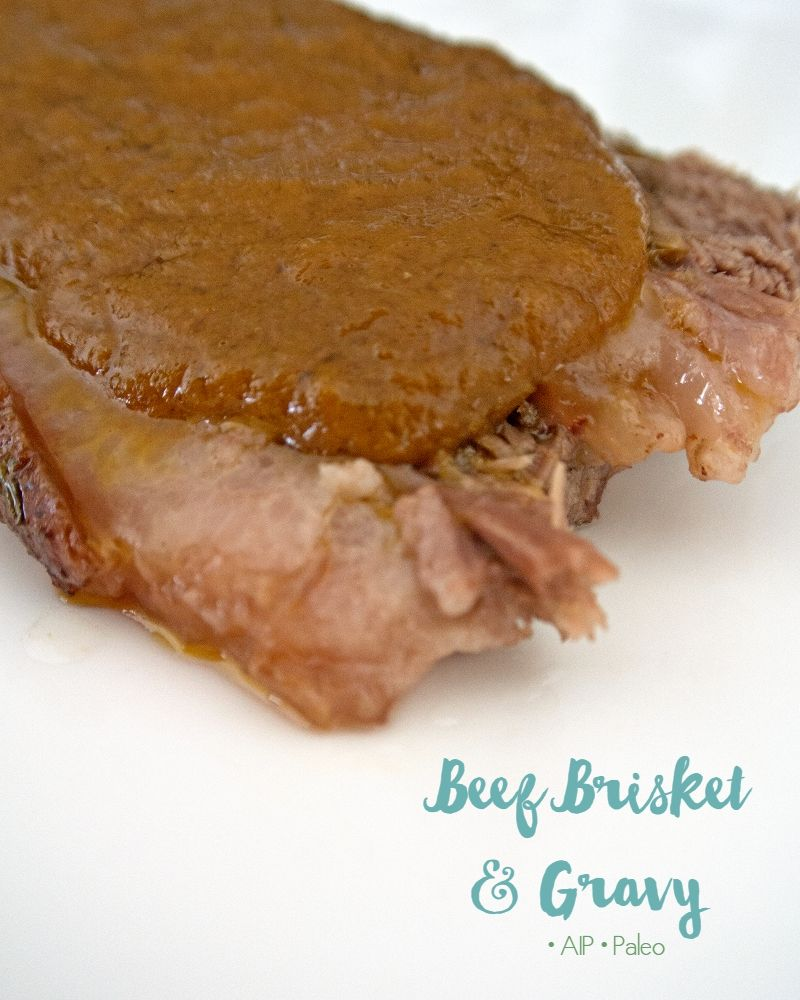 Beef Brisket and Gravy