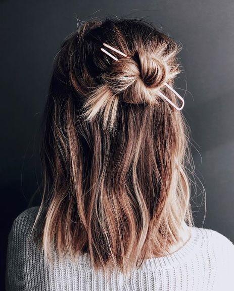 4 modische und einfache Haarstyling-Ideen für den Sommer | Mode #hairstyles
