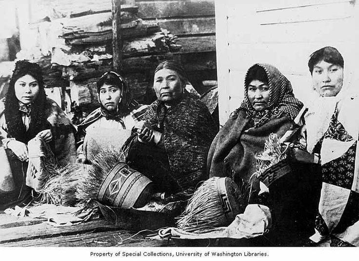 Five tlingit women weaving spruce root baskets ca 1903 baskets five tlingit women weaving spruce root baskets ca 1903 baskets fandeluxe Ebook collections