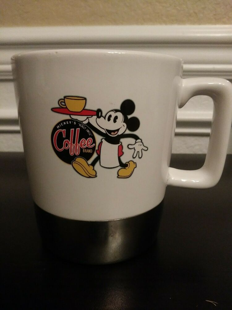 Disney Mickey Mouse Coffee Brand Really Sweet Theme Perks Coffee Cup Disneyana Disney In 2020 Coffee Branding Disney Mickey Mouse Coffee Cups