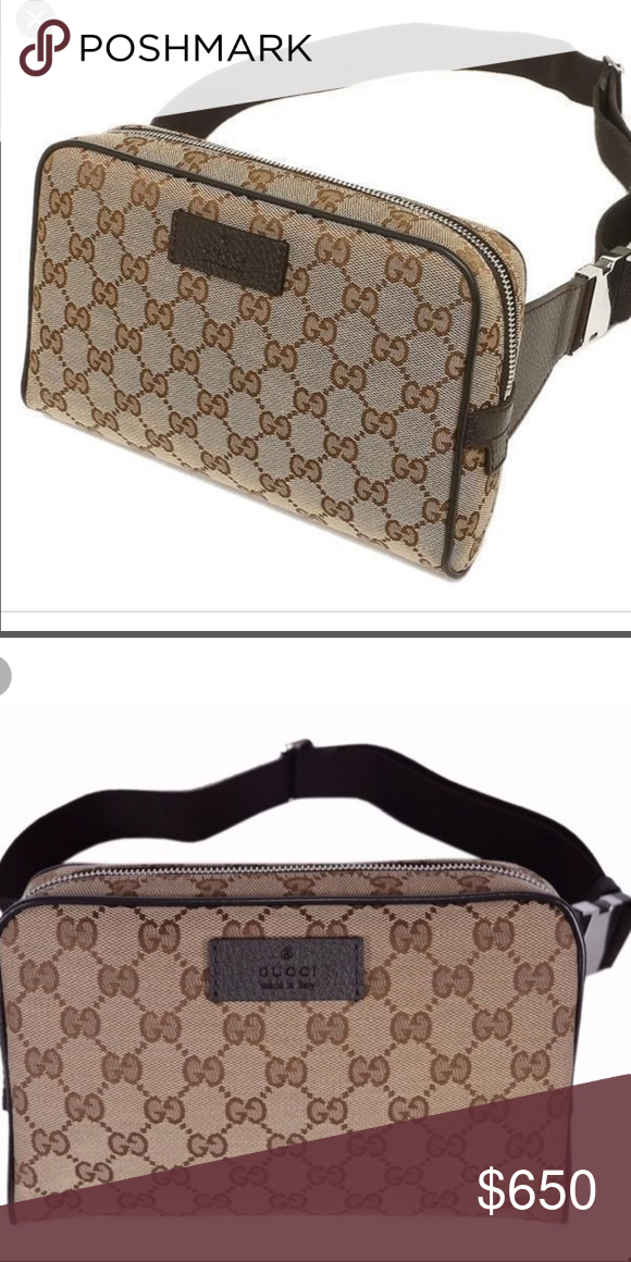 af5f5d886784 Spotted while shopping on Poshmark: GG Gucci Waist Belt Bag! #poshmark # fashion #shopping #style #Gucci #Handbags