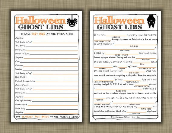 photo regarding Halloween Mad Libs Printable Free titled overwhelming halloween tale strategies ideal halloween experiences Designs