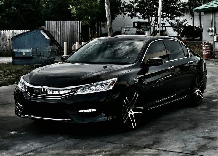 My New 2016 Honda Accord Touring V6 with my Old Wheels