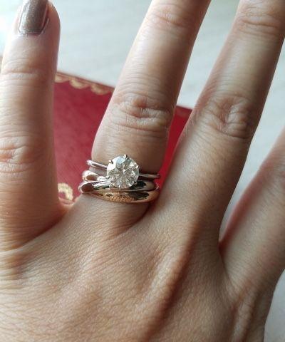 fa17db2ae18 mochiko42 Trinity de Cartier. mochiko42 Trinity de Cartier Cartier Diamond  Rings ...