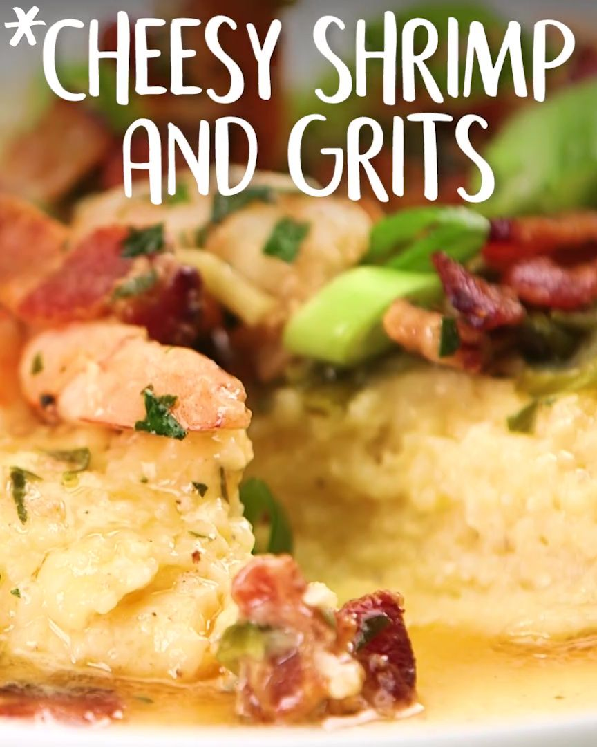 #Cheesy #Shrimp and #Grits