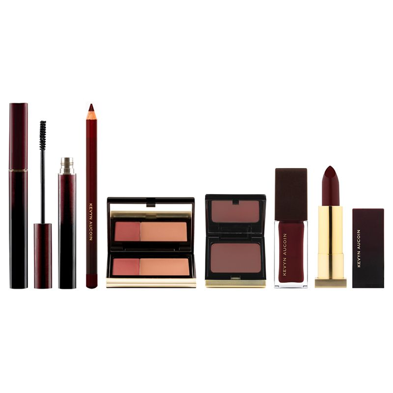 Bloody Gorgeous Box Set - A collection of iconic products in Kevyn's favorite shade Blood Roses, The Bloody Gorgeous Box Set is this year's must have for a look that exudes confidence and timeless beauty #KevynAucoin