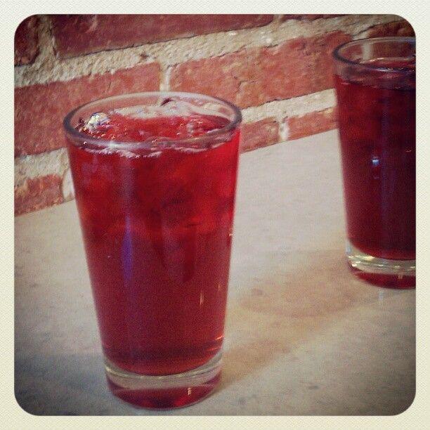 hibiscus tea at peregrine espresso // 14th st // dc