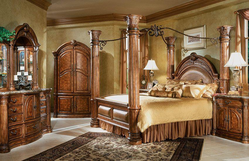 Aico Furniture Monte Carlo Bedroom Set Pictures Classic Bedroom