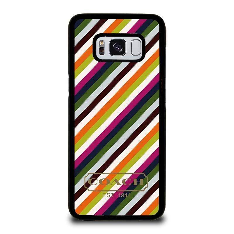 26a2f6b1 COACH NEW YORK RAINBOW Samsung Galaxy S8 Case Cover - Favocase