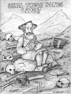 Bible Ezekiel And The Valley Of Dry Bones Bible Coloring Sheets