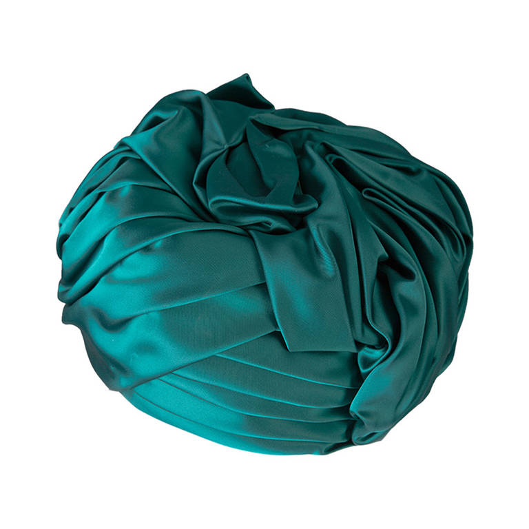 435672ca Christian Dior Emerald Turban | From a collection of rare vintage hats at  https:/