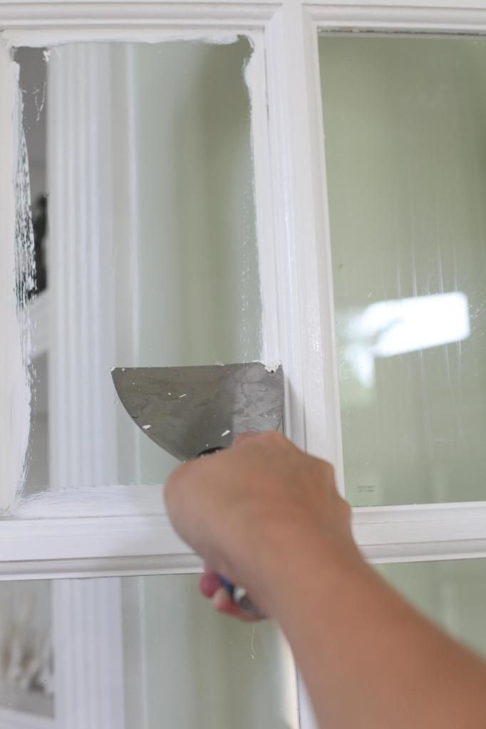 What A Pane Bower Power Remove Paint From Glass Painted Window Frames Painted Window Panes