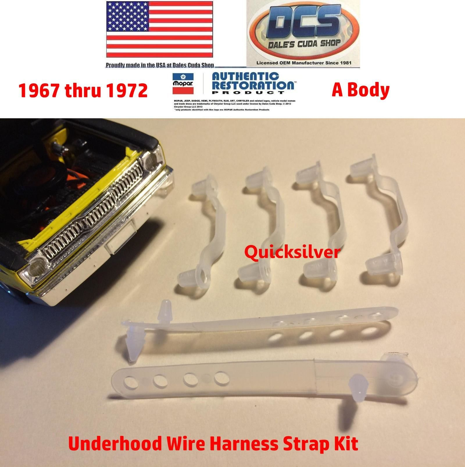 Pin On Mopar Musclecar Wire Harness Strap Retainer Kits For Sale