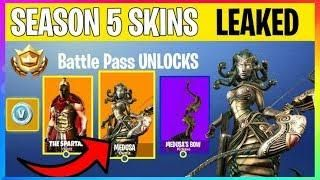 New Fortnite Season 5 Battle Pass Skins Theme Leaked Fortnite