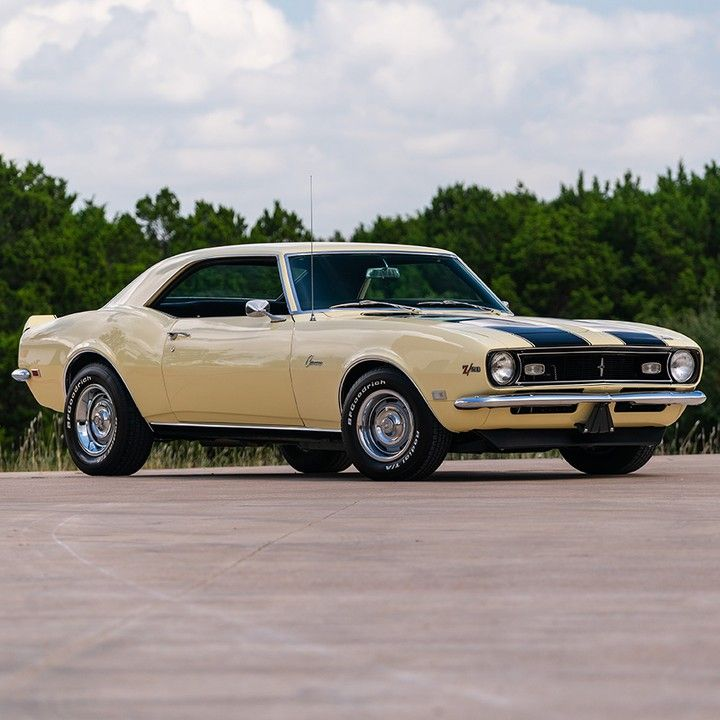 Finished In Butternut Yellow. ... 1968 Chevrolet Camaro