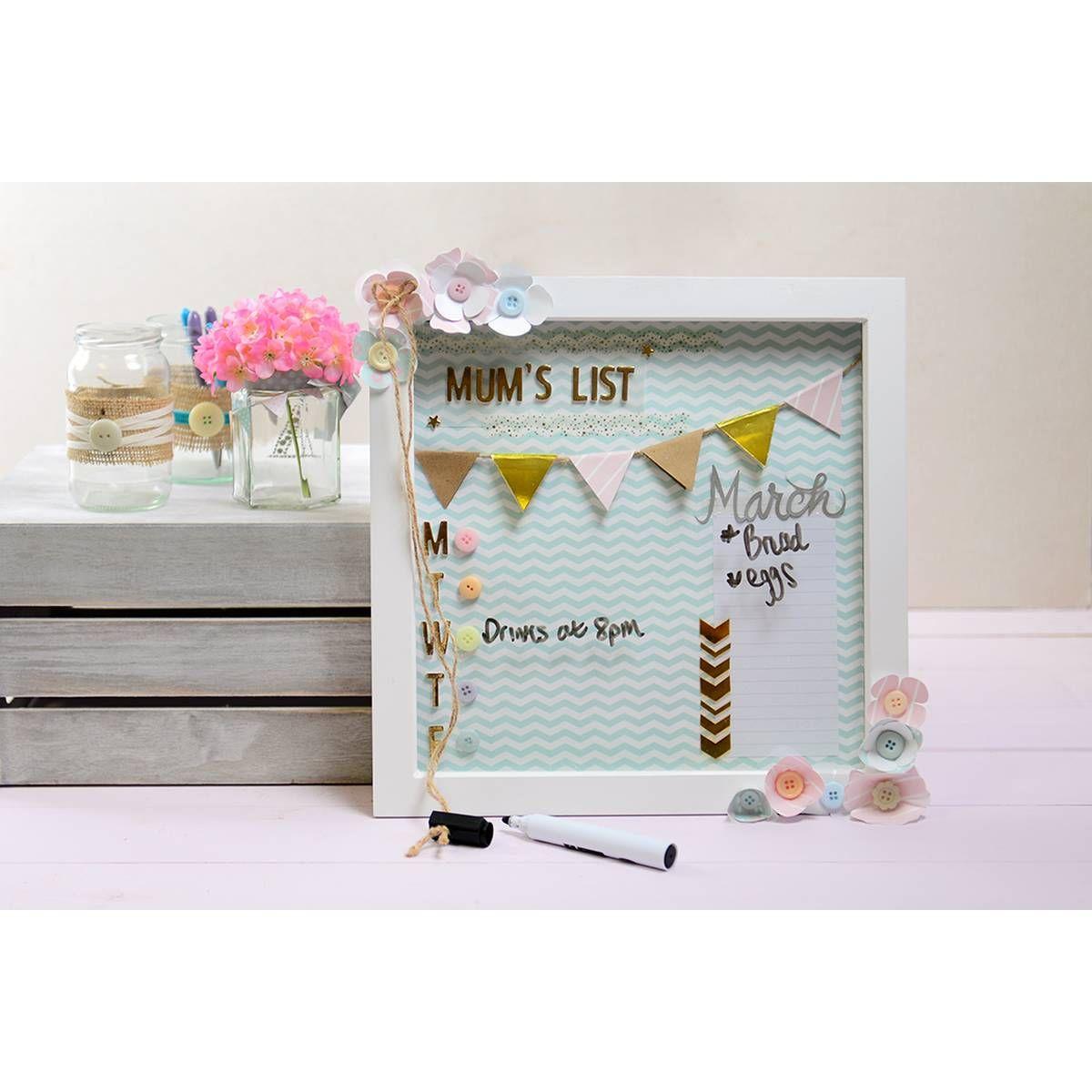 White Box Frame 30 x 30 cm | Pinterest | White box frame, White box ...