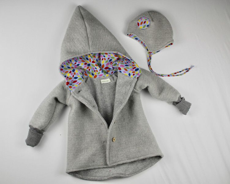 buy popular 31812 a4bc1 Jacken - Walkjacke Baby Kinder mit Baumwollfleece gefüttert ...