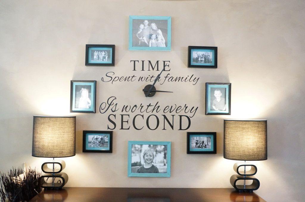 Ordinaire DIY Family Photo Wall Clock
