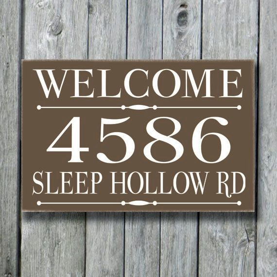 address plaques house number signs address signs - 570×570