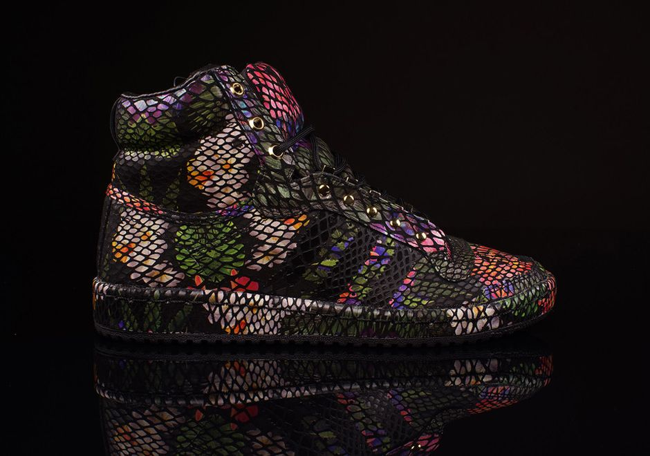 Adidas Originals Top Ten High Floral Snake Sneakernews Com