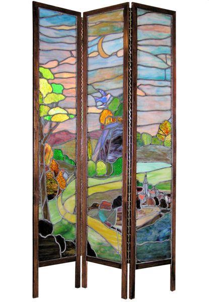 Stained Glass Room Divider Home Decor Pinterest Divider