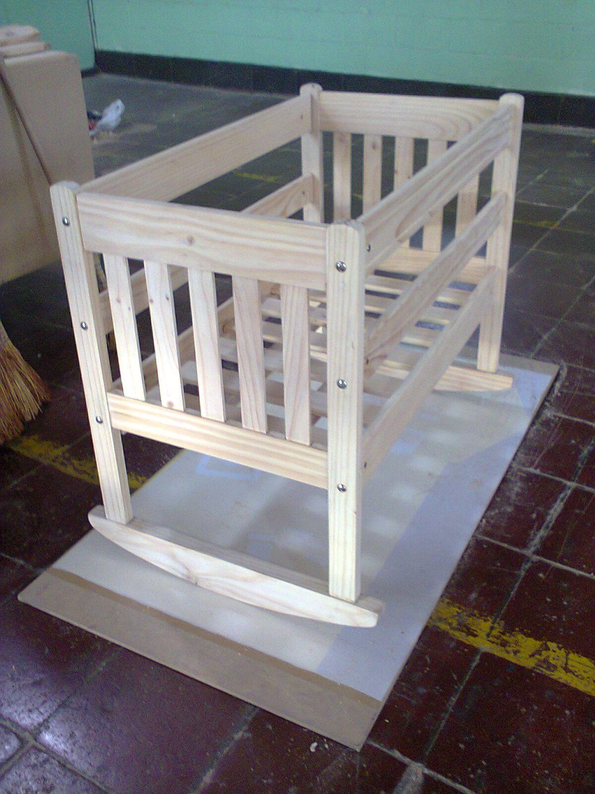 Cuna De Madera Proyecto Producto De La Madera