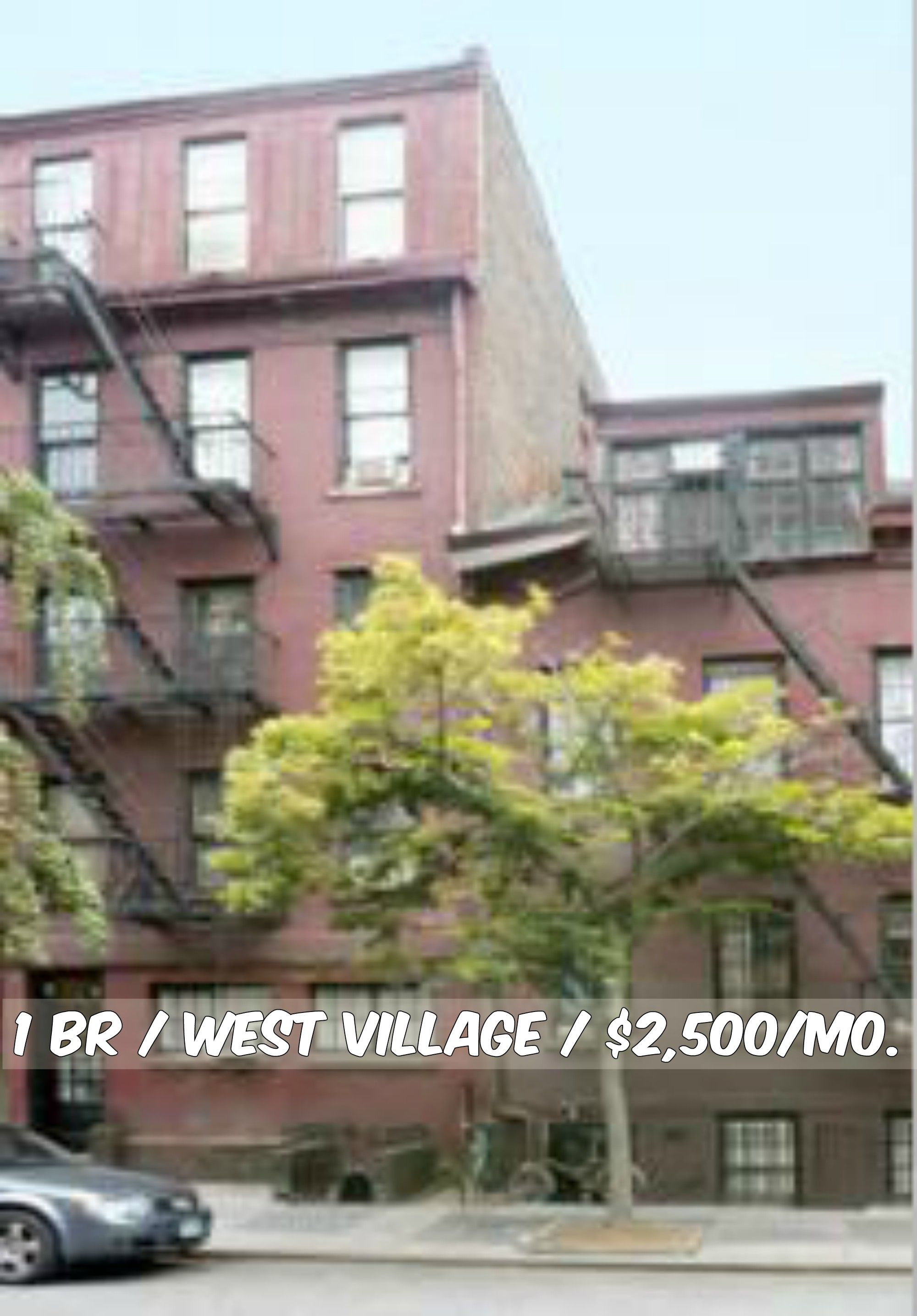 Studio Apt For Rent In West Village At 2 500 Mo Brownstone Contact Us For Details Web Id 136052 Nycapartments Apartment Hunting West Village Apt For Rent