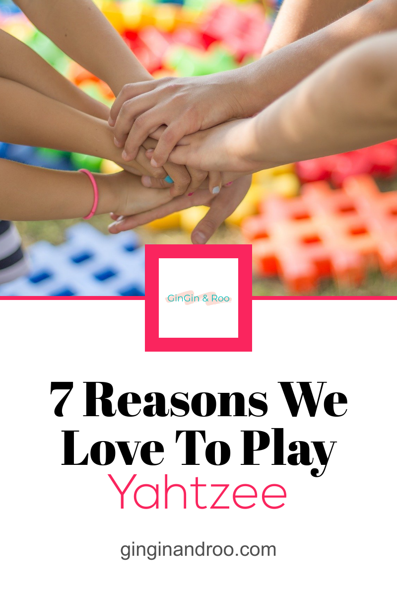 Do you play board games with your kids? We do. And Yahtzee is a family-favourite. Click the link to find out why. #yahtzee #familytime #familygames #mumlife